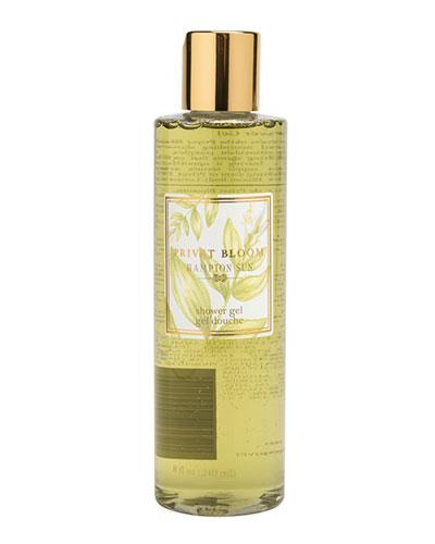 Privet Bloom Shower Gel, 8 oz./ 237 mL