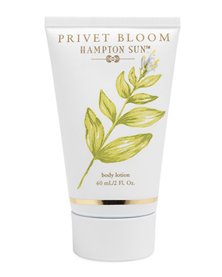 Hampton Sun Privet Bloom Body Lotion, 2 oz./