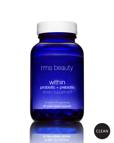 Beauty Within Probiotic + Prebiotic Dietary Supplement, 60 Capsules