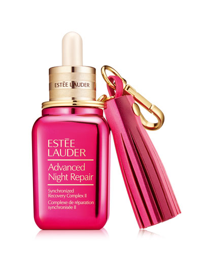 Advanced Night Repair with Breast Cancer Awareness Keychain