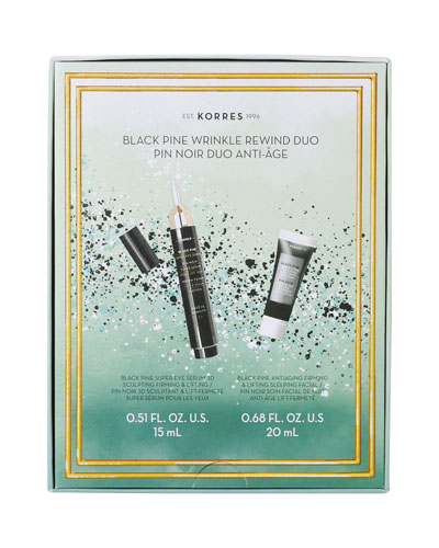 Black Pine Wrinkle Rewind Duo