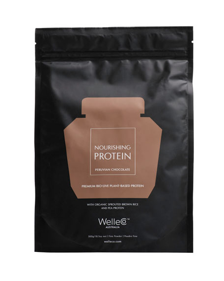 WelleCo Nourishing Plant Protein, Chocolate