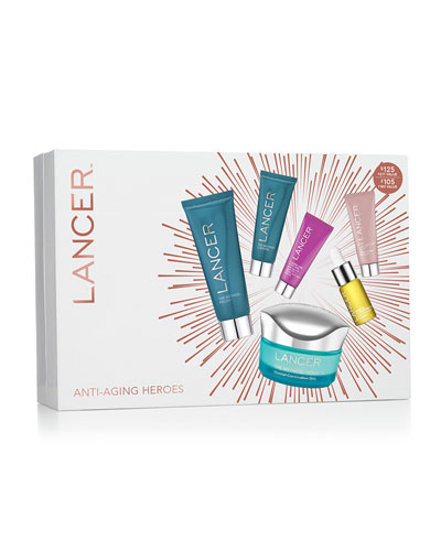 Anti-Aging Heroes 6 Piece Nourish Kit