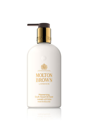 Molton Brown Mesmerizing Oudh Accord & Gold Hand Lotion, 10 oz./ 300 mL