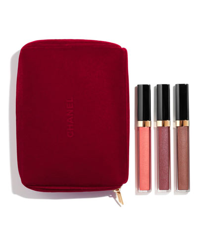 <b>GLOSS IN 3</b><br>ROUGE COCO GLOSS TRIO