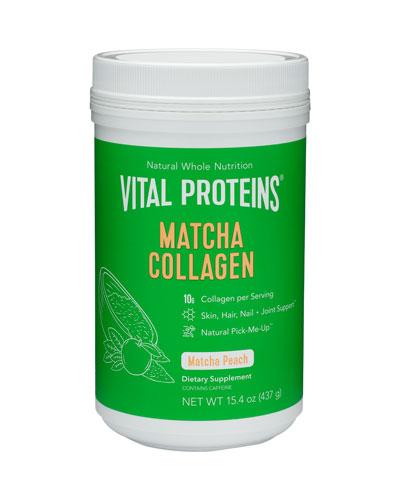 Collagen Peptides Matcha (Peach)