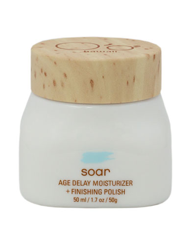 Soar Age Delay Moisturizer+Finishing Polish, 50 g