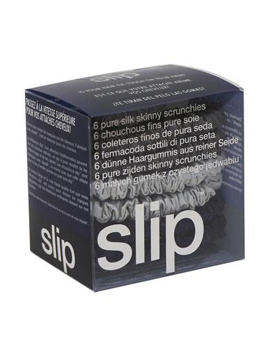 Small slipsilk&#153 Scrunchies, Black
