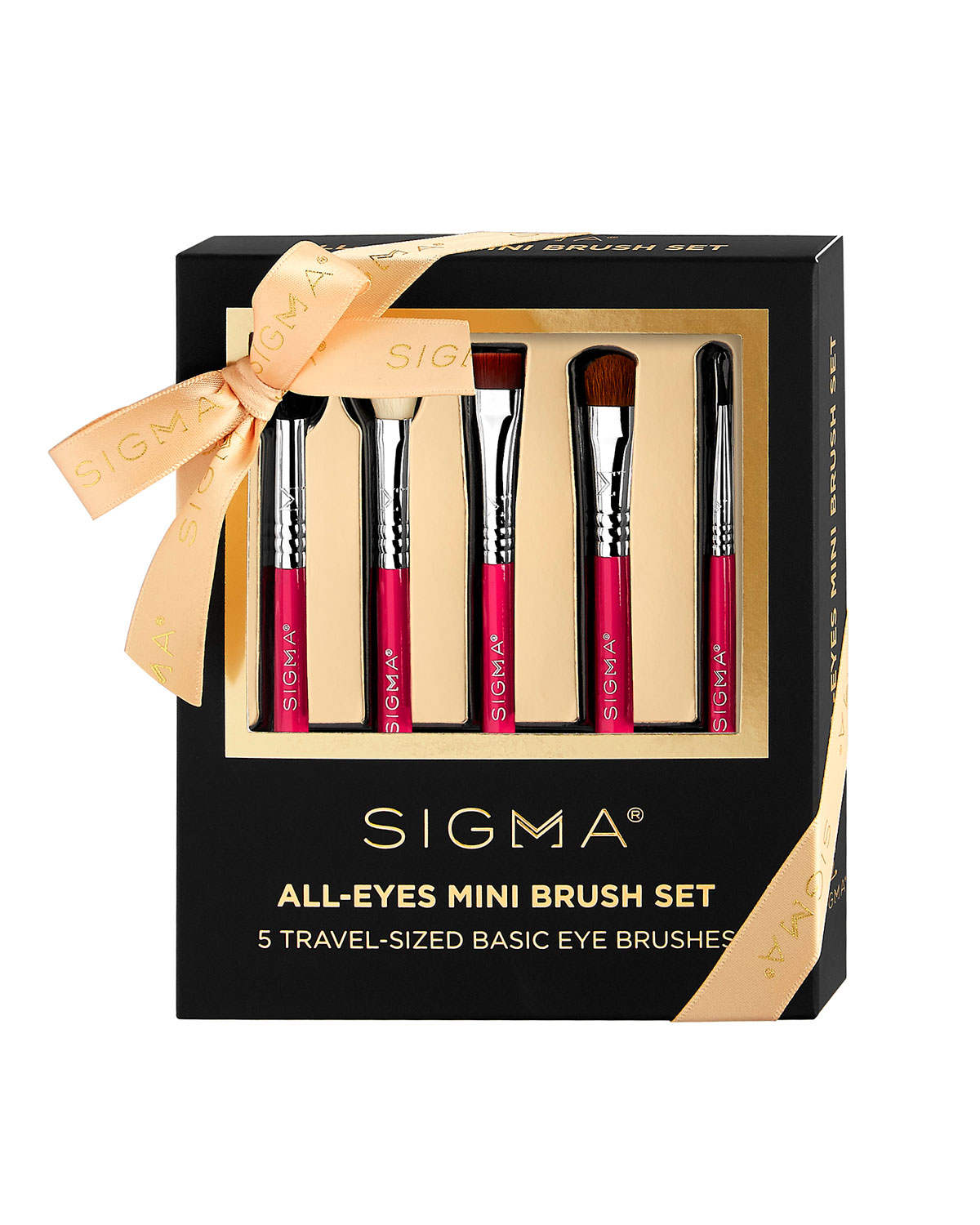 Sigma Beauty Best Of Sigma Beauty Brush Kit 122 Value: Sigma Beauty All Eyes Mini Makeup Brush Set
