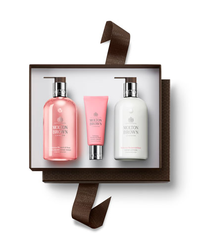 Delicious Rhubarb & Rose Hand Gift Set ($80.00 value)