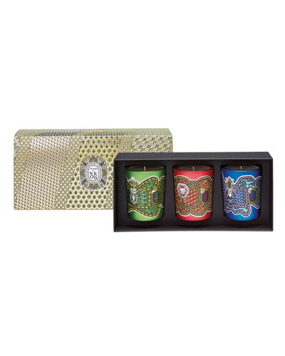 Limited Edition Candle Set, 3 x 190 g