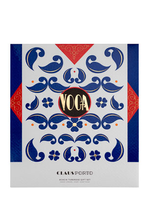 Claus Porto VOGA Hand Cream, Soap and Dish Gift Set