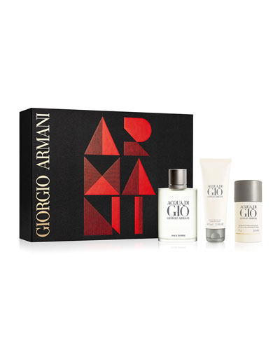 Limited Edition Acqua Di Gio Homme Gift Set ($145 Value)