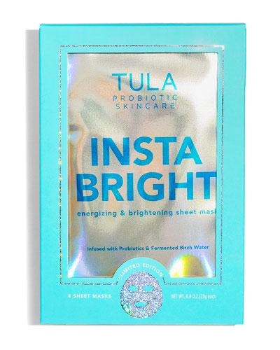 Insta Bright Sheet Mask  4 Pack