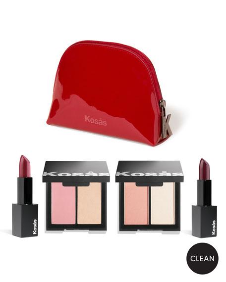 KOSAS COSMETICS Alter Ego Makeup Set: Modern Romance in Multi Pattern
