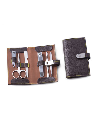 6-Piece Manicure Set in Leather Case