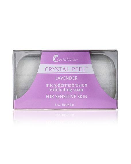 Microdermabrasion Exfoliating Soap for Sensitive Skin Lavender Scent, 8.0 oz./ 237 mL