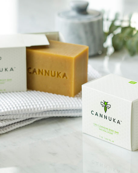 Cannuka CBD Cleansing Body Bar, 6.5 oz./ 190 mL