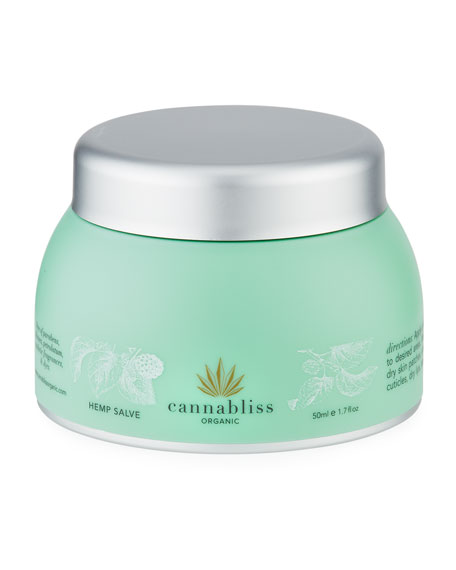 Cannabliss Organic Hemp Salve, 1.76 oz./ 50 mL