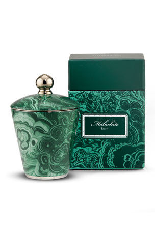 Stefano Ricci Royal Malachite Eight Candle
