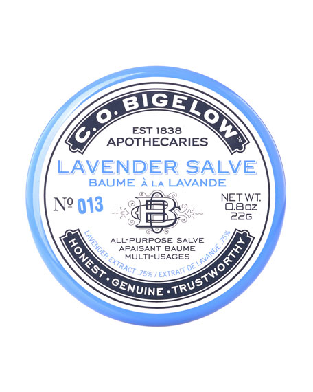 C.O. Bigelow Lavender Salve Tin, 0.6 oz.