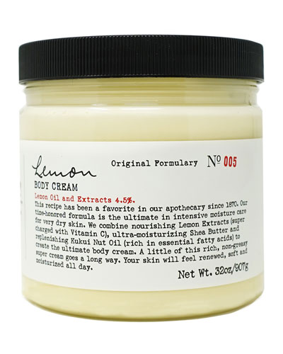 Lemon Body Cream  32 oz./ 907 g