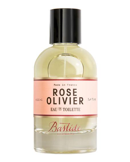Bastide Rose Olivier Eau de Toilette, 3.4 oz./
