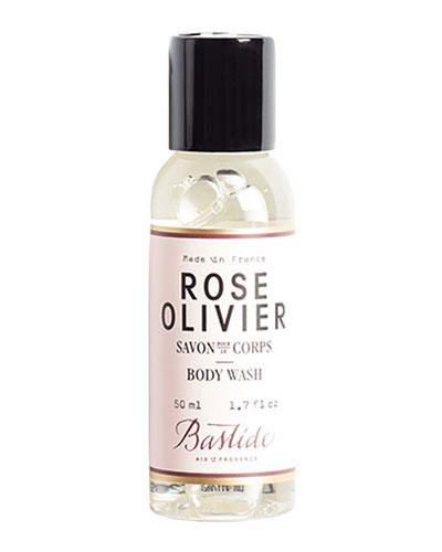 Rose Olivier Body Wash  1.7 oz./ 50 mL