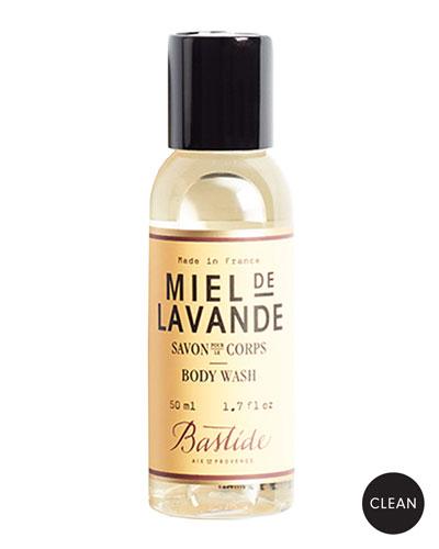 Miel de Lavande Body Wash  1.7 oz./ 50 mL