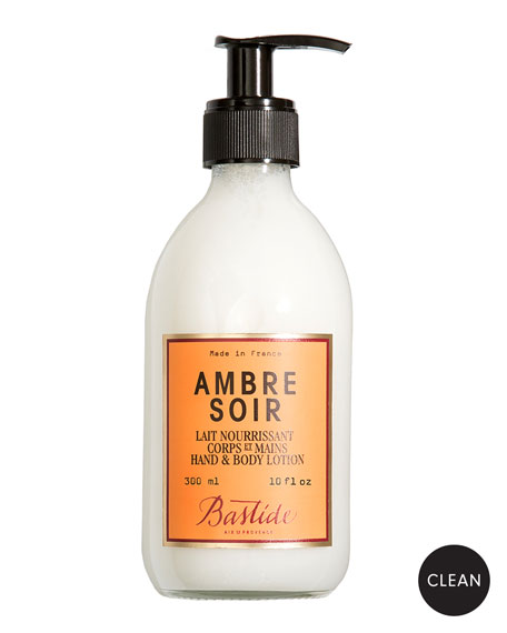 Bastide Ambre Soir Hand and Body Lotion, 10 oz./ 300 mL