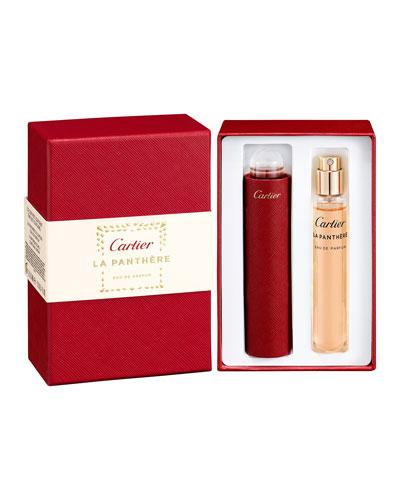 La Panthere Eau de Parfum Set  2 x 0.5 oz.