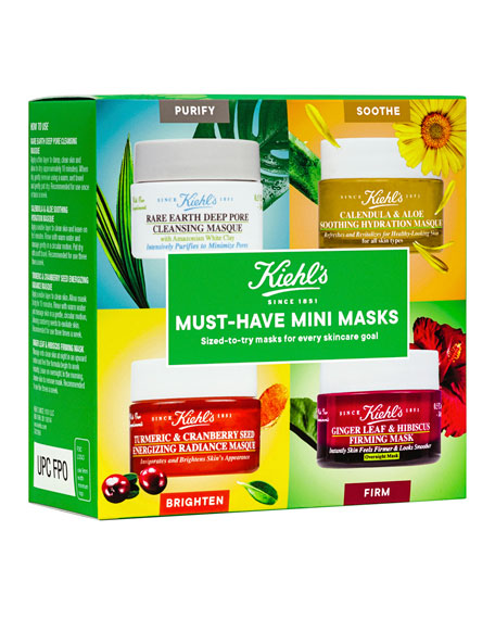 Kiehl's Since 1851 Must-Have Mini Masks