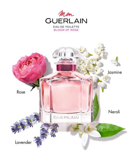 Guerlain Mon Guerlain Bloom of Rose Eau de Toilette Spray, 3.4 oz./ 100 mL