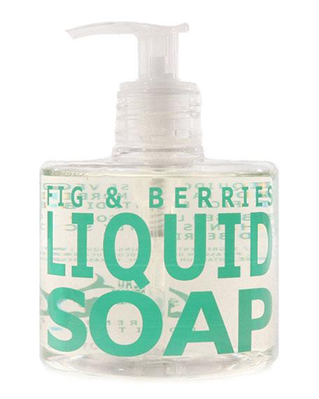 Eau d' Italie Fig & Berries Liquid Soap, 10 oz./ 300 mL