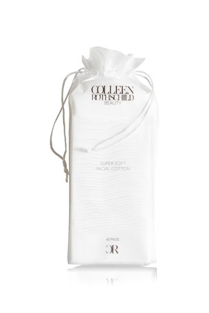 Colleen Rothschild Beauty Super Soft Facial Cotton, 60 pc