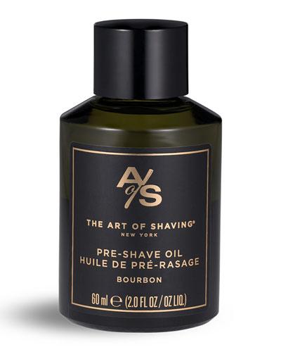 Bourbon Pre-Shave Oil  2 oz./ 60 mL