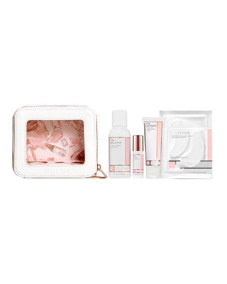 BeautyBio The Minis Starter Set, 4-Step Multivitamin AM Routine