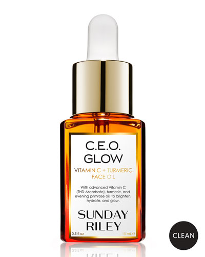 C.E.O. Glow Vitamin C + Turmeric Face Oil, 15 mL