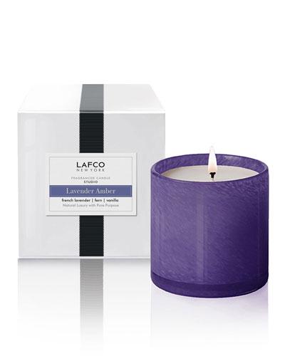 Lavender Amber Candle - Studio  15.5 oz./439g