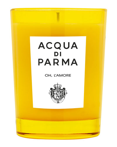 Oh L'Amore Candle, 6.7 oz./ 200 g