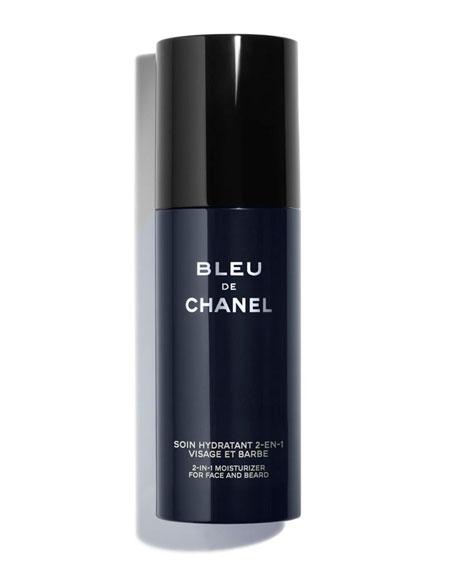 CHANEL <b>BLEU DE CHANEL</b><br>2-in-1 Moisturizer for Face and Beard
