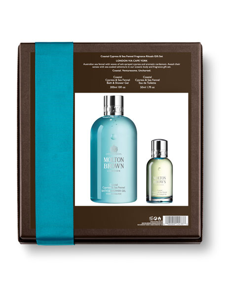 Molton Brown Coastal Cypress & Sea Fennel Fragrants Ritauls Gift Set