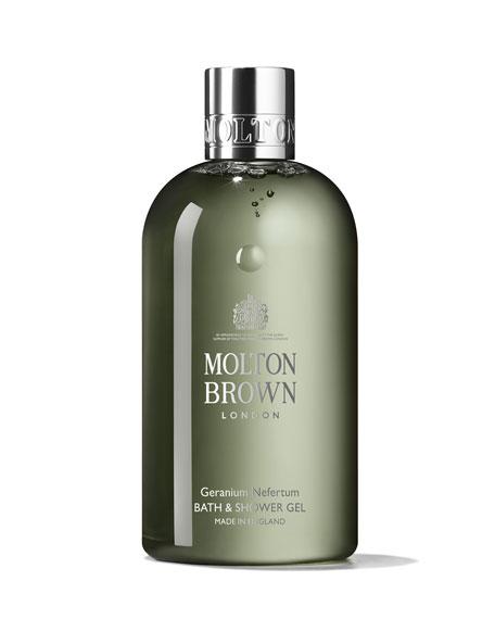Molton Brown Geranium Nefertum Bath & Shower Gel, 10 oz./ 300 mL