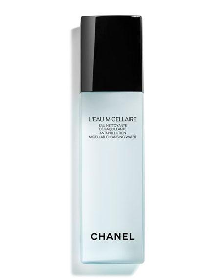 CHANEL <b>L'EAU MICELLAIRE</b><br>Anti-Pollution Micellar Cleansing Water, 5.0 oz.