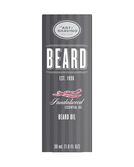 The Art of Shaving Beard Oil Sandalwood, 1 oz./ 30 mL