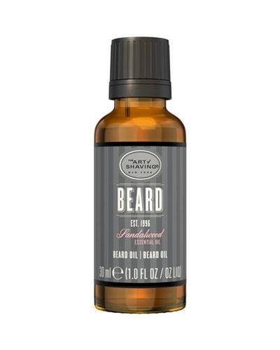 Beard Oil Sandalwood, 1 oz./ 30 mL