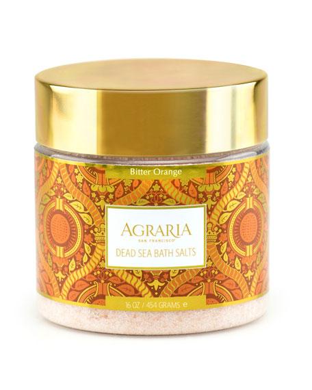Agraria Bitter Orange Bath Salts, 16 oz./ 1 lb.