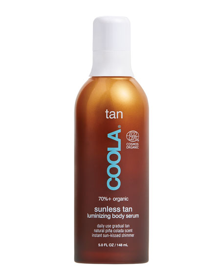 Coola Organic Sunless Tan Luminizing Body Serum, 5 oz./ 148 mL