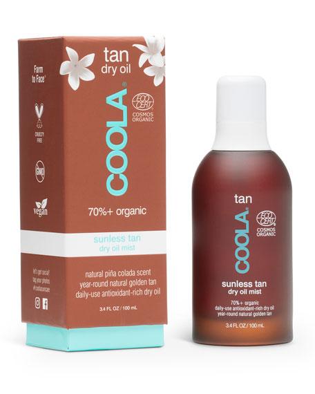 Coola Organic Sunless Tan Dry Oil Mist, 3.4 oz./ 100 mL