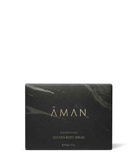 Aman Nourishing Golden Body Serum, 1.7 oz. /  50 mL